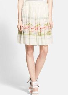 Joie 'Sacha' Cotton & Silk Skirt