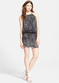Joie 'Sachiko' Print Silk Blouson Dress