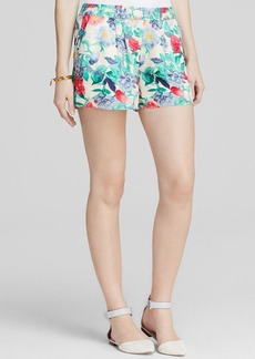Joie Shorts - Bloomingdale's Exclusive Ysabel Garden Peonies Silk