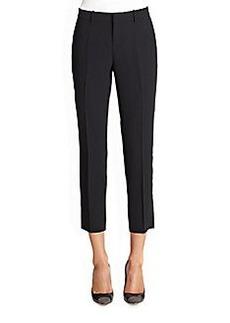 Joie Sitara Cropped Crepe Pants