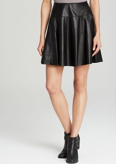 Joie Skirt - Andrina Pleated Leather