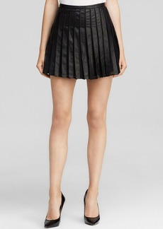 Joie Skirt - Morowa Pleated Leather