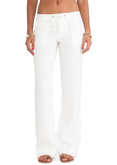 Joie Skylera Wide Leg Pants in Ivory