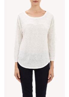Joie Slub Jersey Long-Sleeve T-shirt