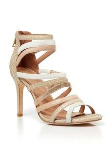 Joie Snake Skin Strappy Sandals - Zee High Heel