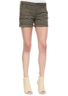 Joie So Real Twill Shorts, Fatigue