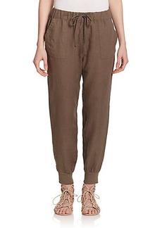 Joie Stuva Linen Track Pants