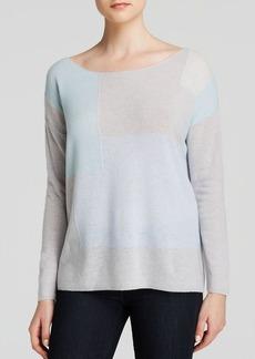Joie Sweater - Jenka Color Block Intarsia Cashmere