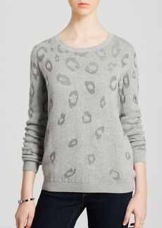 Joie Sweater - Lilibeth Animal Burnout