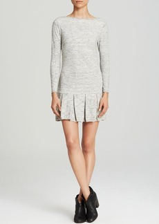 Joie Sweater Dress - Milanda Pleated