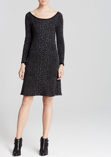 Joie Sweater Dress - Romula Allover Animal