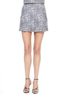 Joie Tabby Printed Sateen Skirt