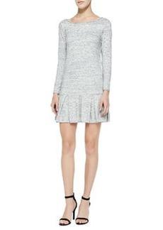 Joie Tala Drop-Skirt Cotton Slub Dress
