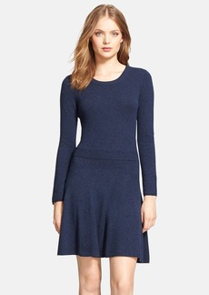 Joie 'Talissa' Wool Blend Fit & Flare Dress