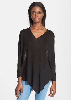 Joie 'Tambrel B' Lace Back Asymmetrical Hem Sweater