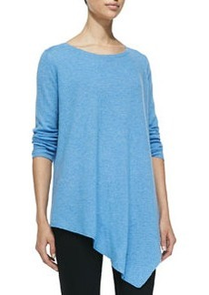 Joie Tambrel Oversize Boat-Neck Sweater, Dusty Sky