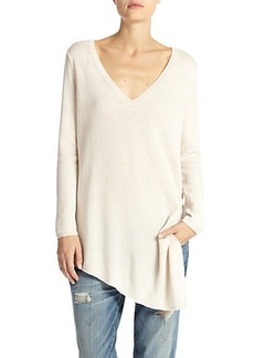 Joie Tambrel Wool & Cashmere Asymmetrical Draped Sweater