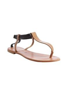 Joie tan leather 'Shoal' flat sandals