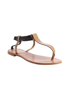 Joie tan leather 'Shoal' flat sandals