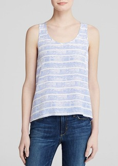 Joie Tank - Entera Python Stripe Sunset Blue