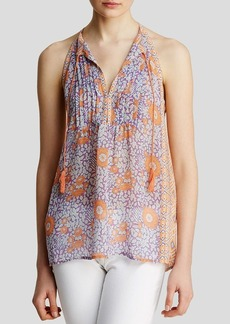 Joie Tank - Shara Foral Pleated