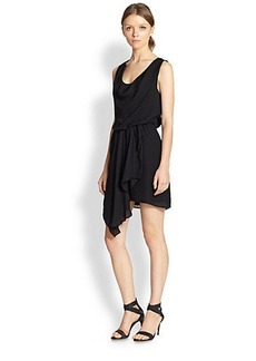 Joie Tiandi Silk Georgette Dress