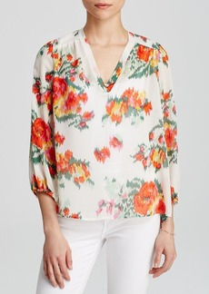 Joie Top - Axcel Ikat Floral Print
