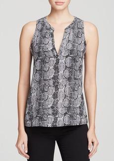 Joie Top - Corette Snake Print Silk