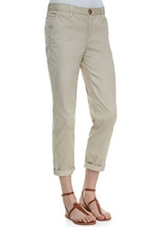 Joie Traveler Cropped Cotton Pants