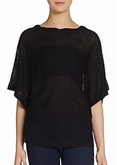 Joie Trina B Linen & Silk Pullover