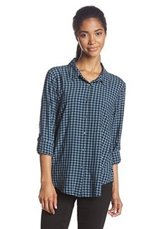 Joie Women's Anabella Gingham Long Sleeve Blouse