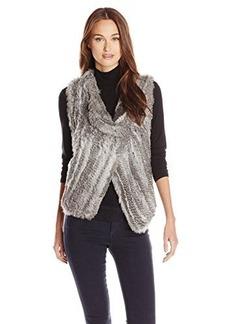 Joie Women's Andoni Knitted Rabbit Fur Vest
