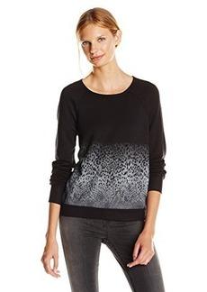 Joie Women's Annora Animal Ombre Sweatshirt