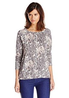 Joie Women's Annora Animal Print Sweatshirt