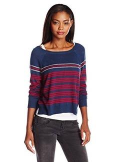 Joie Women's Arbor Collegiate-Stripe Pullover Sweater