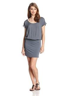 Joie Women's Brix Jersey Short Sleeve Blouson Dress
