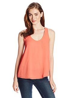 Joie Women's Cartera Silk Pocket Front Sleeveless Tank Top