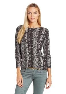 Joie Women's Cienna Python Sweater