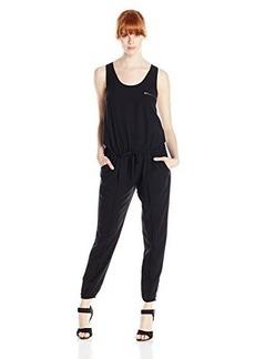 Joie Women's Coquel C Crepe Cropped Leg Jumpsuit