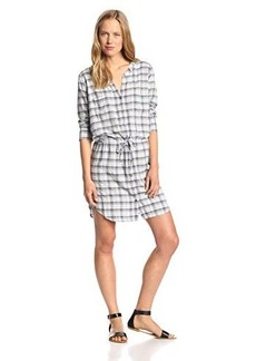 Joie Women's Dayle Yarn Due Plaid Tunic Dress
