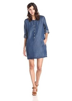 Joie Women's Eguine Denim Dress, Medium Indigo, X-Small