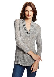 Joie Women's Estee Cowl-Neck Heathered Pullover Sweater