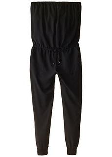 Joie Women's Fairley Crepe Strapless Jumpsuit