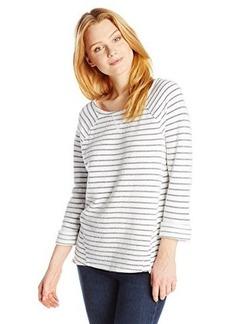 Joie Women's Kaladin Striped Terry Sweatshirt
