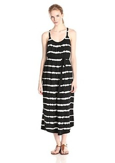 Joie Women's Laguna C Tie-Dye Stripe Jersey Maxi Dress