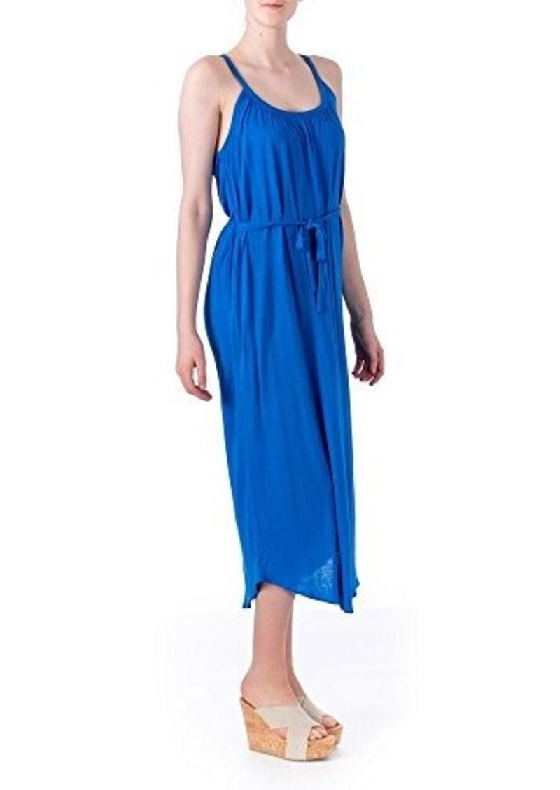 Joie Women's Laguna Jersey Tie-Waist Maxi Dress, Azul, Small