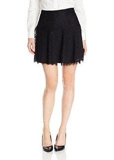 Joie Women's Maika Lace Flared Skirt