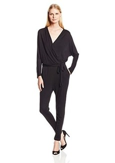 Joie Women's Paltrow Jersey Faux Wrap Jumpsuit