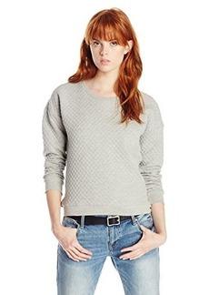 Joie Women's Phoenix Diamond Jacquard Quilted Sweatshirt