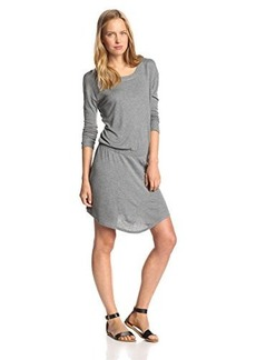 Joie Women's Ruhi Jersey Long Sleeve Flared Dress